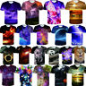 Fashion Mens Womens 3D Print T-Shirt Graphic Casual Short Sleeve Tops Tee S-4XL