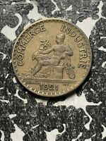 1921 France 1 Franc (6 Available!) Circulated (1 Coin Only)