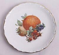 "Vintage Schumann Bavaria Porcelain Assorted Fruit Decorative Plate 7 1/4"""