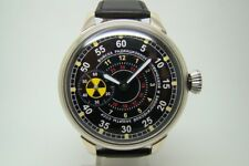 SOVIET TROOPS RADIATION CHEMICAL PROTECTION USSR MILITARY WATCH GOLD TONE MVT