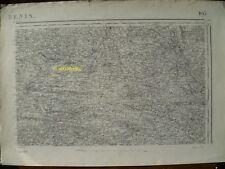 Carte d'État-Major Ancenis Nord-Est 1894
