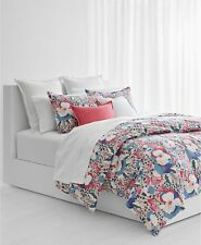 Ralph Lauren Sophie Floral FULL/QUEEN Duvet Cover & Shams Set Cotton $270 New