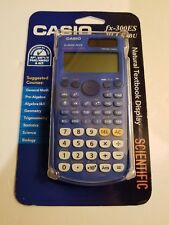 Casio FX-300ES Plus: Scientific Calculatorv 10 Digits:  Blue: NIB