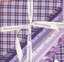 STOFFPAKET 12 Quadrate => 48cmx48cm - Patchwork Westfalenstoffe: TORINO Lila