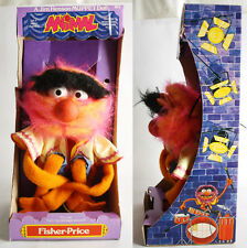 "ULTRA RARE VINTAGE 1978 ANIMAL MUPPETS 18"" HAND PUPPET FISHER PRICE NEW MISB !"