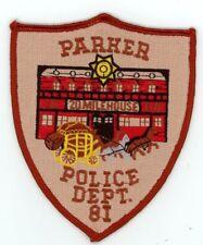 PARKER COLORADO CO POLICE COLORFUL PATCH SHERIFF
