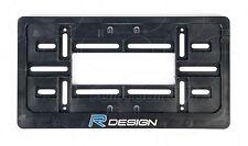 VOLVO R DESIGN LOGO Auto FRAME USA for LICENSE PLATE PLATES V70R C30 5T S60R V40