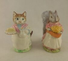 Beswick Beatrix Potter Ribby and Goody Tiptoes Vintage BP3a 1970s