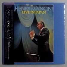 HENRY MANCINI LIVE IN JAPAN 9/17/1971 TOKYO JAPAN PRESSING ONLY LP OBI GATEFOLD