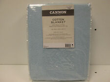 New Cannon Cotton Blanket Size Twin Blue