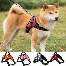Dog Harness Vest Pet Adjustable Padded Extra Big Large Medium Walking Lead Leash