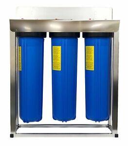 AlkaViva Trident Standard 3-Stage Whole House Filter