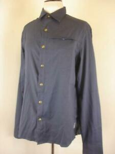 NWT $89.95 Club Ride Sawtooth Bike Jersey Long Sleeve Shirt Men's sz L Navy Blue