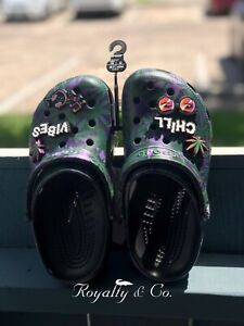 Limited Edition 420 Holiday Crocs