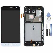Für Samsung Galaxy J3 2016 SM-J320F LCD Display Touch Screen Digitizer+Frame FG