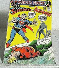 Superman and Aquaman Dc 203 - 1971