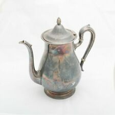 Antique Reed & Barton Jamestown Silverplated Coffee/Tea Pot Silver Plate #1800