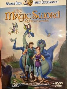 The Magic Sword - Quest For Camelot region 4 DVD (1998 animated family movie)