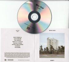 MAN DUO Orbit 2017 UK 8-track promo test CD + press release