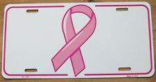 2012 BREAST CANCER SYMBOL BOOSTER License Plate