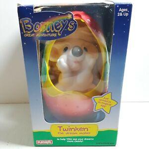 Playskool Twinken 1997 Barneys Great Adventure Magical Egg Vintage Toy With Box