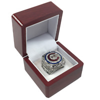 SOLID BRASS Chicago Cubs 2016 Rizzo Silver World Series Championship Ring