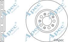 FRONT BRAKE DISCS (PAIR) FOR AUDI A1 GENUINE APEC DSK957