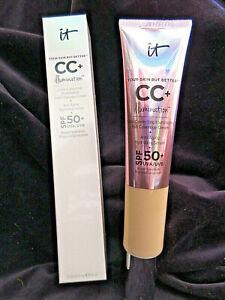 IT Cosmetics CC+ Illumination Color Correcting Light Medium 2.53 fl oz NIB