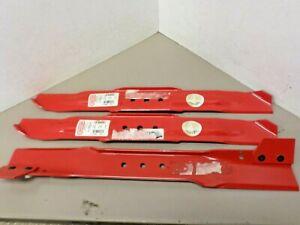 SHOP LOT - 3 New Blades! 1 - Snapper 1-9795 and 2 -Oregon 94-017 Mower Blades