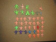 M.U.S.C.L.E. lot 32 and 7 SLUG Zombie plus 2 bootleg KO Muscle figures vintage