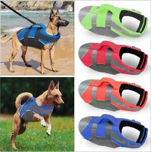 Pet Dog Life Jacket Puppy Swimming Safety Vest Reflective Stripe Lifesaver Vest