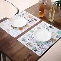 Mat Coasters For Dinner Kitchen Accessories Cotton Linen Place Mat Table Mat