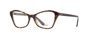Brand New 2021 Prada Authentic Women Eyeglasses Frame PR 11XV 2AU-1O1 Italy Rx S