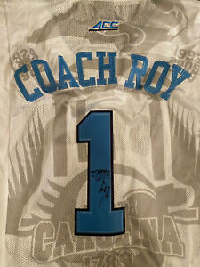 Coach Roy Williams Signed/Autographed  UNC Tar Heels Custom Basketball  Jersey