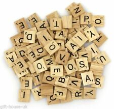 Wooden Letters Game Board Modern Board & Traditional Games