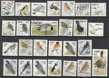 Ireland #1353//1526 Birds Euro currency 2002-03 26 diff used stamps cv $70