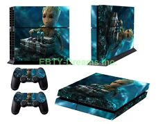 Marvel Guardians Of The Galaxy Mini Groot Vinyl Skin Sticker Decal Protector PS4