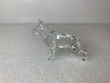 Swarovski Crystal Figurine German Shepherd Dog 235484