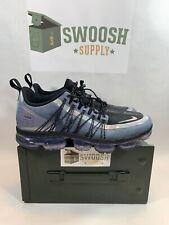 9e3a3a7e8b9f Nike Air VaporMax Run Utility Blue Dusk Black Anthracite AQ8810-400 Mens Sz  10