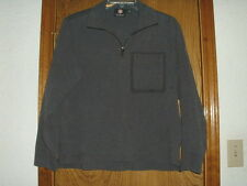 Men's Swiss Army Victorinox Zippered Gray Pullover Medium