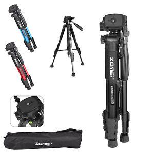 ZOMEI Aluminium Portable Travel Camera Tripod For Camcorder Phone Canon Nikon