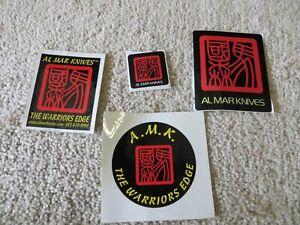 Vintage Al Mar Sticker Lot J