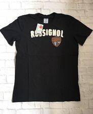 ROSSIGNOL Da Uomo T-Shirt. Nero. Taglia: Large Nuova Con Etichetta