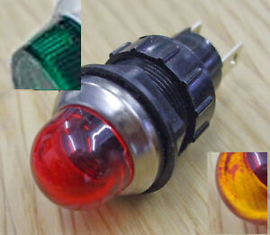 ONE - Panel indicator or warning lamp ARCOLECTRIC, up to 50v max -  CWLx24