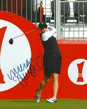 MORGAN PRESSEL signed LPGA 8x10 photo with COA B
