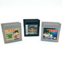 Lot 3 jeux Detective Conan - Nintendo Game Boy - NTSC-J / JAP