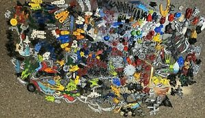 Huge Lot LEGO Bionicle  LOT  3lb and 13oz. all parts and pieces