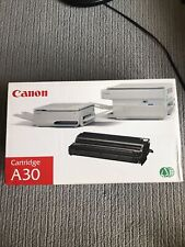 Canon A30 Black Toner Cartridge NIB Box Has Wear!
