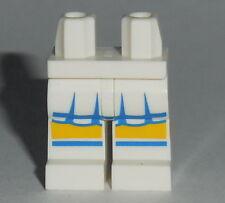 LEGS 008 Lego White Legs with Blue & White Short Skirt NEW Cheerleader Girl 8683
