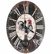 Horloge Pendule Style Mural Bistro Suspension Provence Décoration Enfants